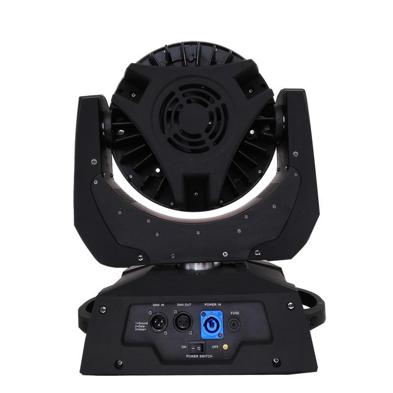 Ring Control 18W RGBWA+UV LED Zoom Moving Head Wash