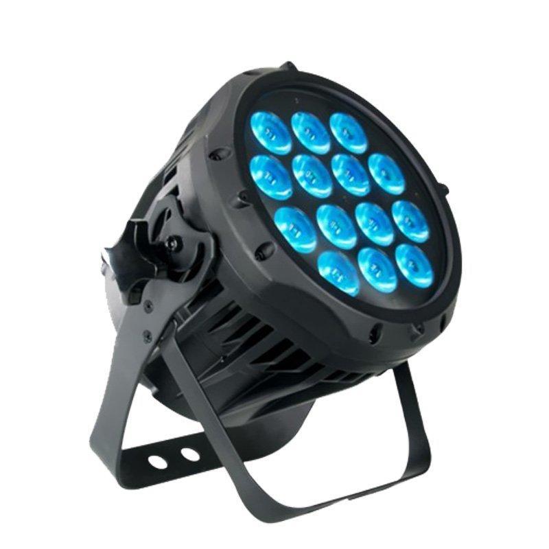 14PCS 12W RGBWA+UV 6 IN1 led Outdoor Slim Par Light