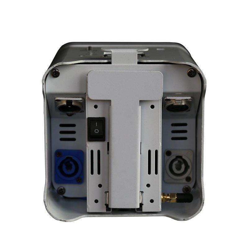 RGBWA+UV 6IN1 Wifi Smart Par Battery Operated Wireless Led Uplighting+Remote+Phone Control