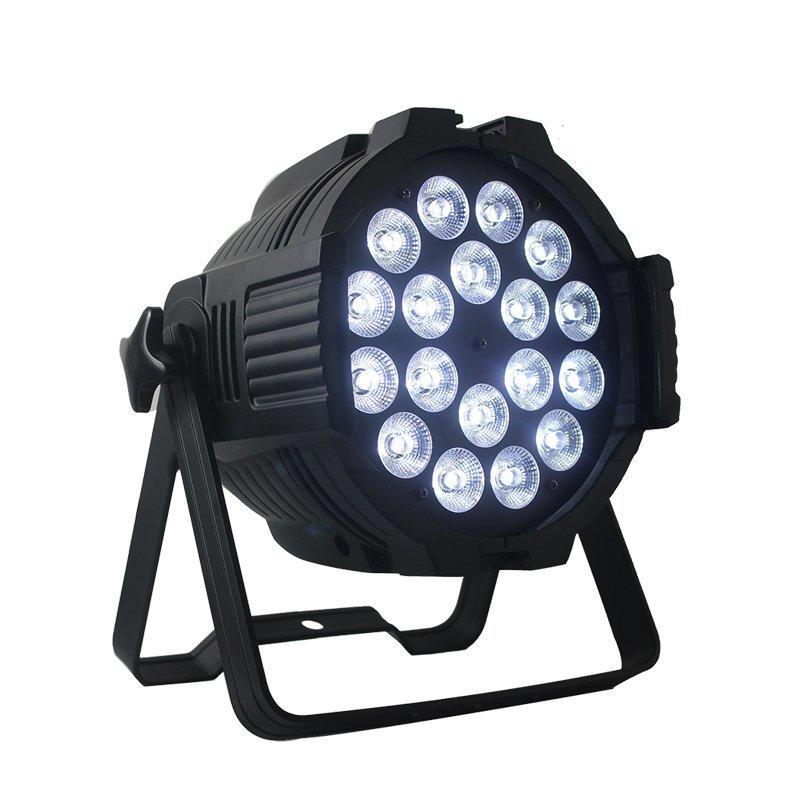 18PCS 10W RGBW LED Par Can Wash Light