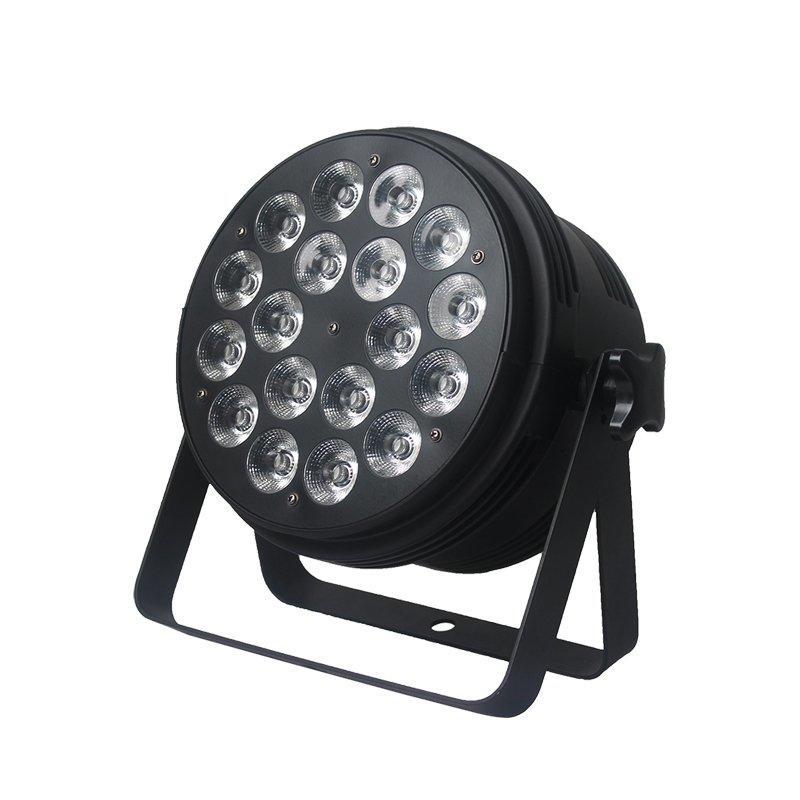 LED Par Light with 18 PCS RGBW 4-IN-1 Leds