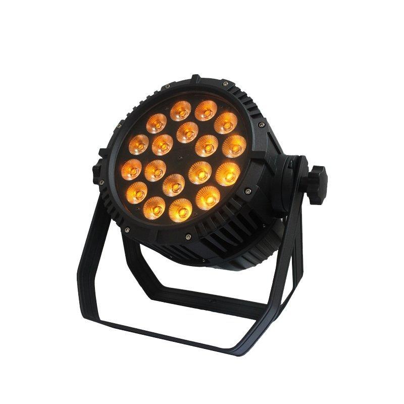 12W RGBWA+UV LED Par Can Outdoor Wash Light