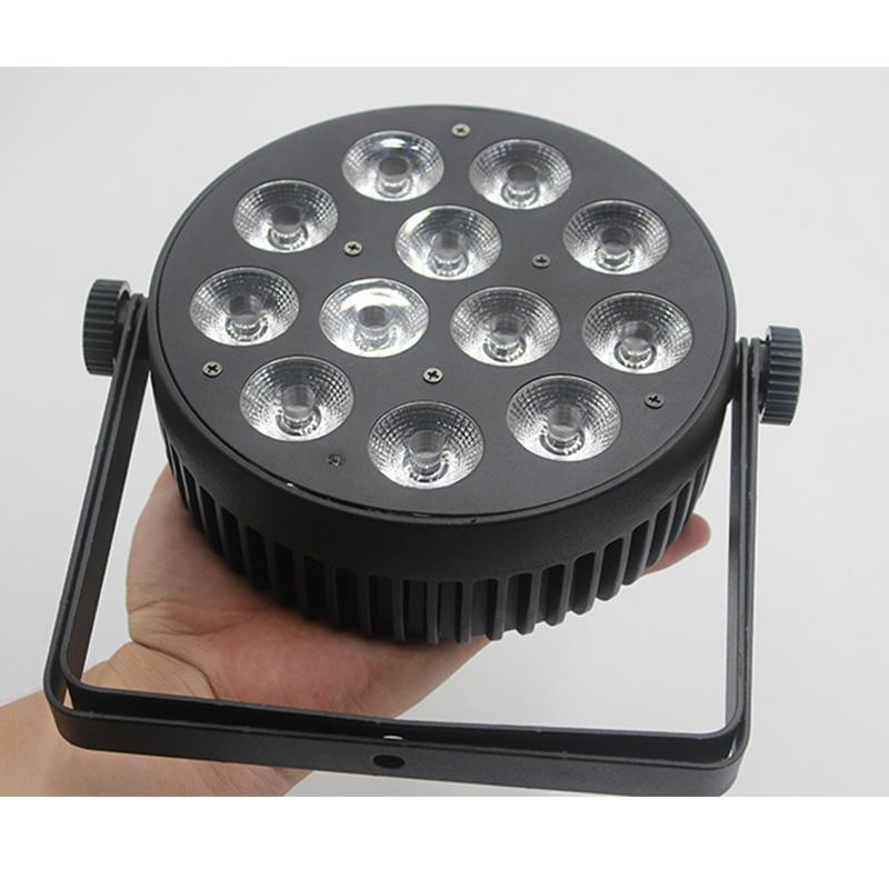 12 X 8W RGBW 4-in-1 Led Flat SlimPar Cans