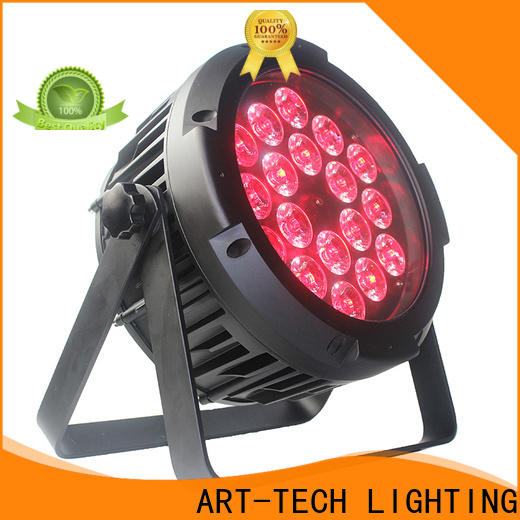 ART-TECH LED Lighting wifi operated LED Wireless battery par factory for indoor