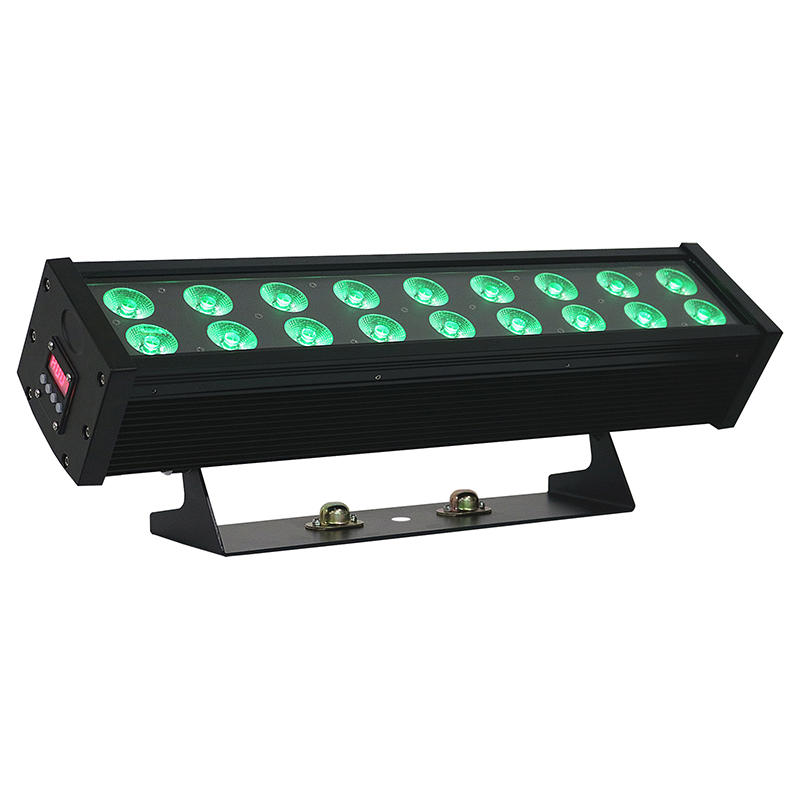 Outdoor 18×10W RGBW 4IN1 LED Wall Wash Light